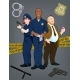 Team of Policemen Three Police Officers Characters - GraphicRiver Item for Sale
