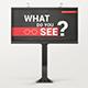 Billboard With Glued Paper Effect Mockups - GraphicRiver Item for Sale