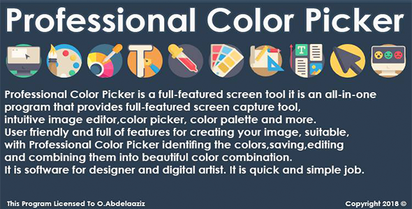 Professional Color Picker By VB.NET Download