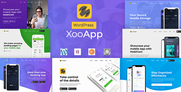 XooApp - App Landing Page WordPress Theme