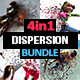 4-in-1 Dispersion Bundle Photoshop Action - GraphicRiver Item for Sale