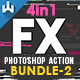 4-in-1 FX Photoshop Action v2 - GraphicRiver Item for Sale