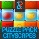 CityScapes Blast and Match-3 Puzzle Full Asset - GraphicRiver Item for Sale
