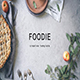 Foodie - Creative Powerpoint Template - GraphicRiver Item for Sale