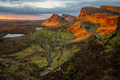 Sunrise in the Scottish Highlands of the Quiraing - PhotoDune Item for Sale