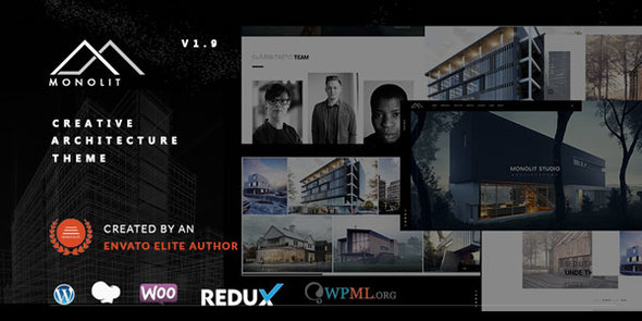 Monolit – Responsive Architecture WordPress Theme Download