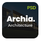 Archia - Architecture & Interior PSD Template - ThemeForest Item for Sale