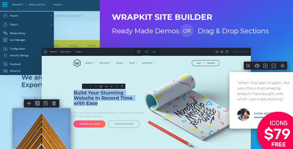 WrapKit with Page Builder