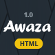 Awaza - One Page Multipurpose - ThemeForest Item for Sale
