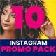 Instagram Pack - 10 Posts - GraphicRiver Item for Sale