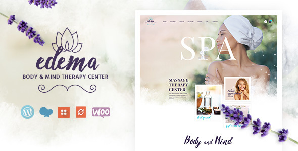 Edema | Wellness & Spa WordPress Theme