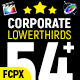 Corporate Lower Thirds FCPX - VideoHive Item for Sale