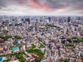 Tokyo cityscape at sunset - PhotoDune Item for Sale