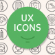 UX Workflow - Icons Outline Version - GraphicRiver Item for Sale