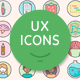 UX Workflow - Icons Filled Version - GraphicRiver Item for Sale