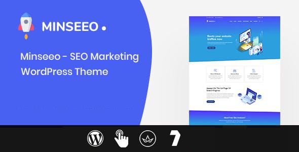Minseeo - SEO Marketing WordPress Theme