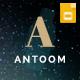 Antoom - Minimal Google Slides Presentation Template - GraphicRiver Item for Sale