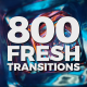Fresh Transitions - VideoHive Item for Sale