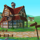 Seamless Village - GraphicRiver Item for Sale