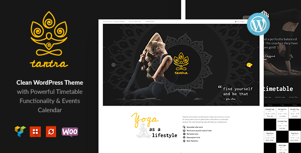 Tantra | A Yoga Studio and Fitness Club WordPress Theme