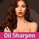 Oil Sharpen Paint Photoshop Action - GraphicRiver Item for Sale