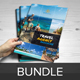 Travel Agency Brochure Bundle 2 in 1 - GraphicRiver Item for Sale