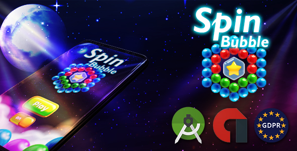 Spin Bubble (Android Studio + admob + GDPR) Download