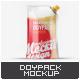 Transparent Doypack Package Mock-Up - GraphicRiver Item for Sale