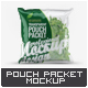 Transparent Pouch Packet Mock-Up - GraphicRiver Item for Sale