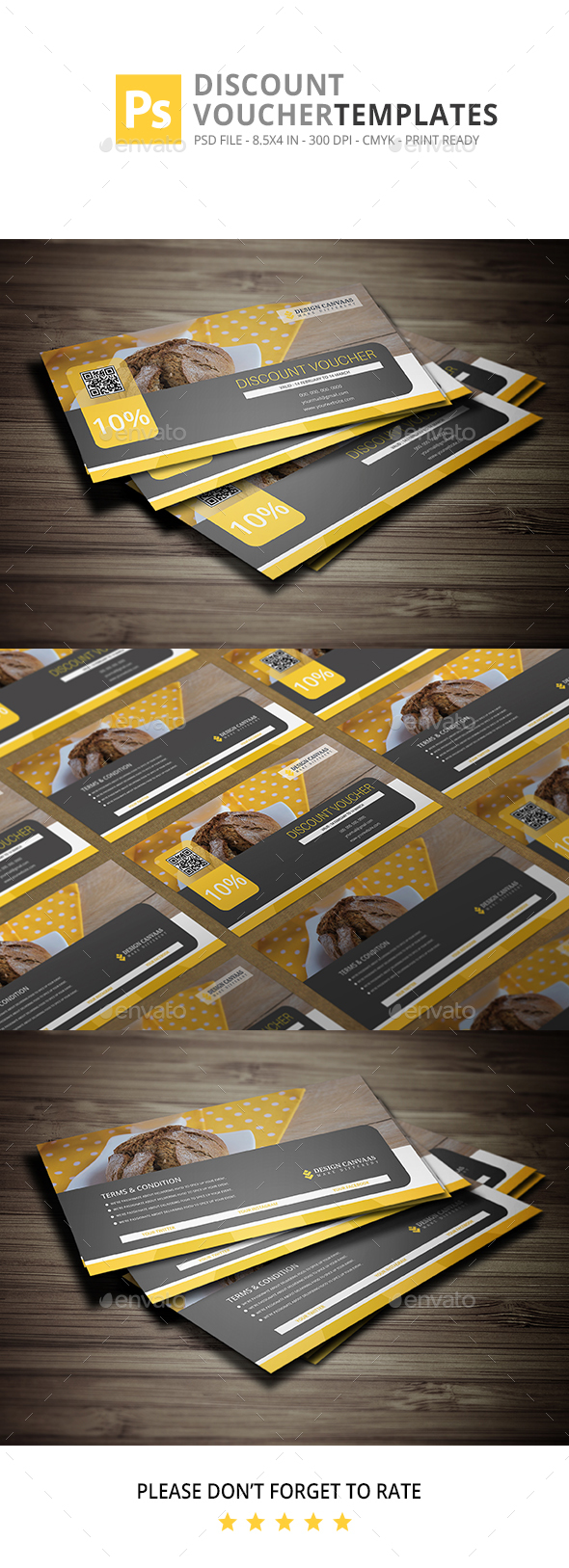 Voucher Discount Graphics, Designs & Templates from GraphicRiver