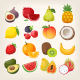 Fruit Vector Icons - GraphicRiver Item for Sale