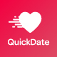 QuickDate Android - Mobile Social Dating Platform Application - CodeCanyon Item for Sale