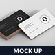 Business Card Stack Mockup 90x50 Format - GraphicRiver Item for Sale