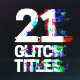 Glitch Titles for Premiere Pro MOGRT - VideoHive Item for Sale