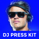 Promo DJ Press Kit / Rider / Resume PSD Template - GraphicRiver Item for Sale