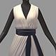 Women summer long dress high heel shoes - 3DOcean Item for Sale