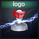A Glitch Logo