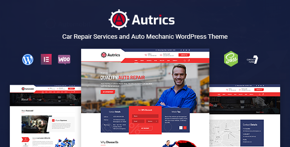 Autrics | Car Services and Auto Mechanic WordPress Theme