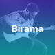 Birama - Music PowerPoint Template - GraphicRiver Item for Sale