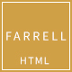 Farrell - Tourism and Entertainment HTML Template - ThemeForest Item for Sale
