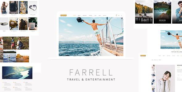Farrell – Tourism and Entertainment HTML Template Free Download
