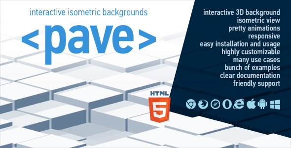 Pave - Interactive Isometric Backgrounds Download