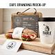 Cafe Branding Mockup - GraphicRiver Item for Sale