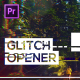 Glitch Modern Opener for Premiere Pro - VideoHive Item for Sale