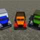Industrial Cargo Truck Pack - 3DOcean Item for Sale