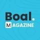 Boal - Newspaper Magazine News - ThemeForest Item for Sale