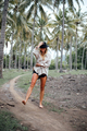 Beautiful girl in tropical forest - PhotoDune Item for Sale