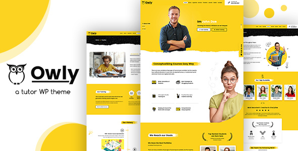 Owly - Tutor, Training WordPress, Education Theme