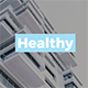 Healthy - Medical Google Slides Template - GraphicRiver Item for Sale