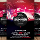 Summer Party Nightclub Poster - GraphicRiver Item for Sale